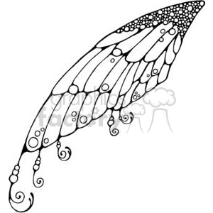Fairy Wing clipart. Royalty.