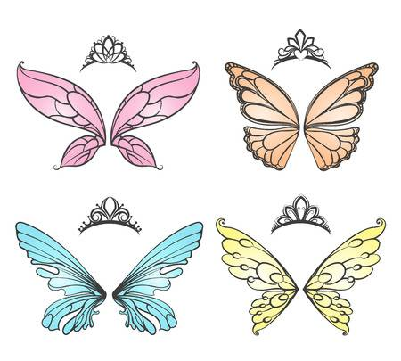 18,735 Fairy Wings Stock Illustrations, Cliparts And Royalty Free.