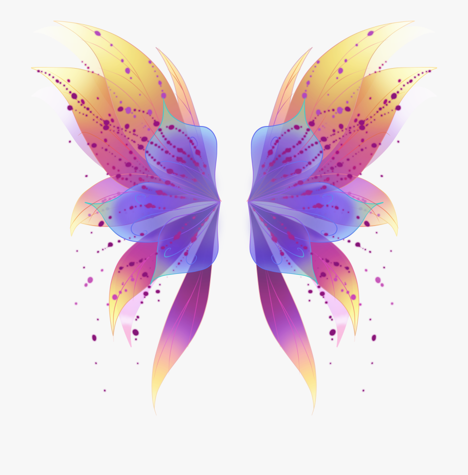 Transparent Fairy Wings Png.