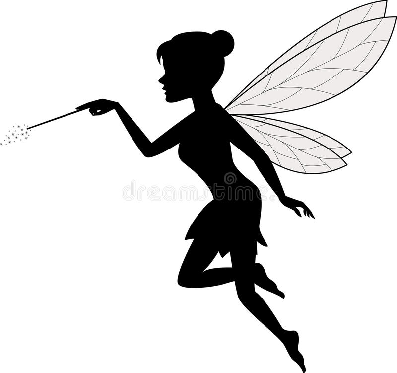 Fairy Wand Stock Illustrations.