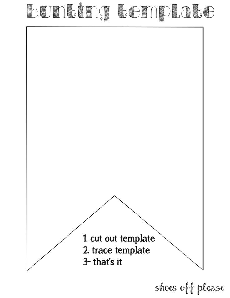 25+ best ideas about Pennant Template on Pinterest.