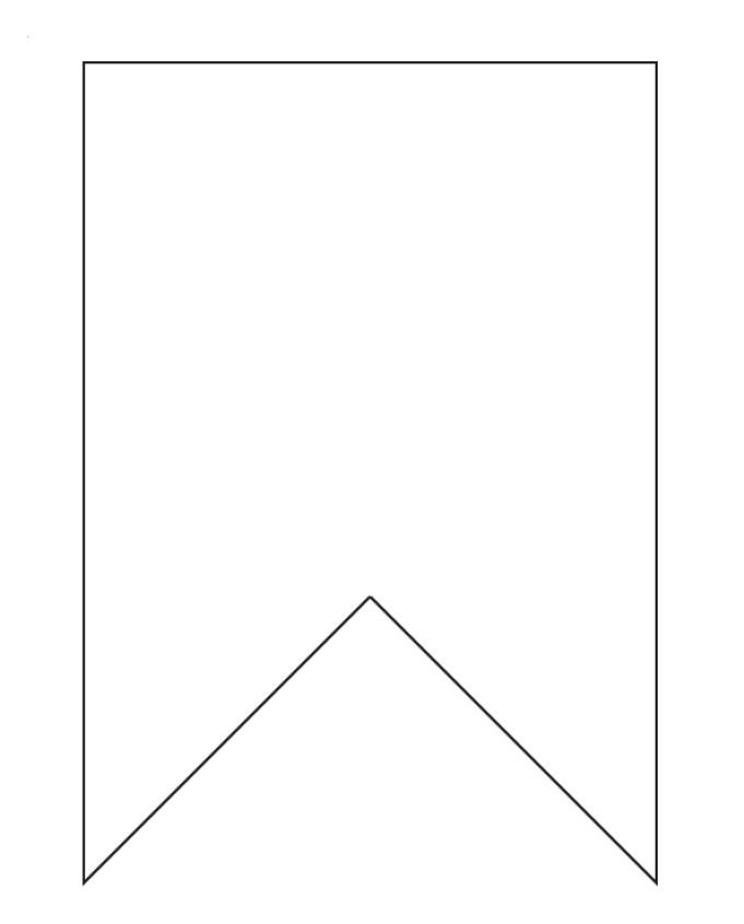 Fairytale Square Flag Banner Outline Clipart 20 Free