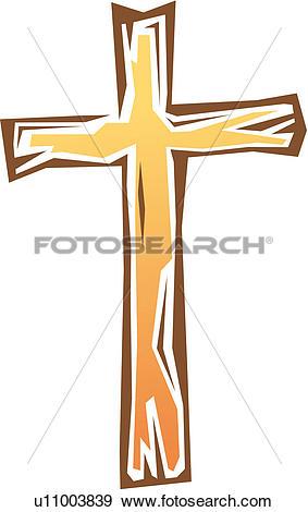 Clip Art of religious goods, christianity, faith, cross, religion.