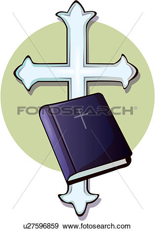 Clip Art of christianity, religion, image diary, bible, church.