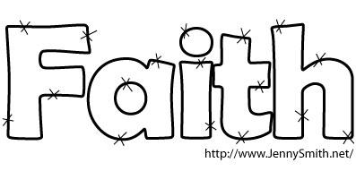 Women Of Faith Clipart.