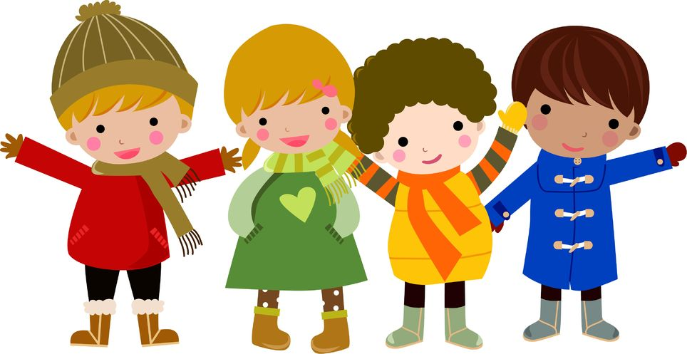 Kids with faith clipart.