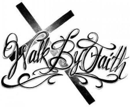 Walk by Faith Clipart (25+).