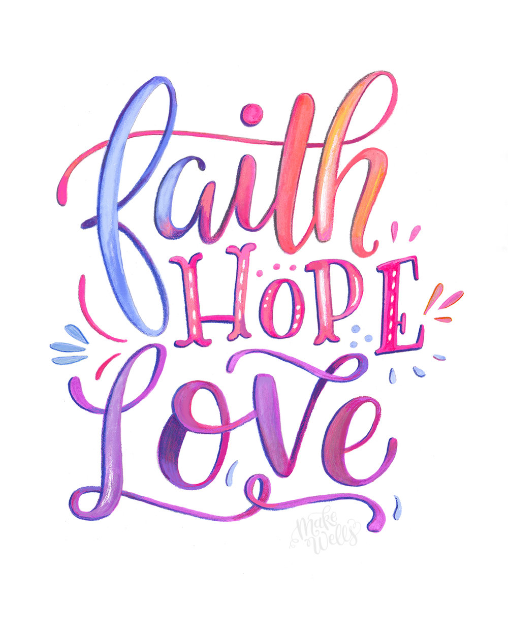 Faith Hope And Love Clipart.