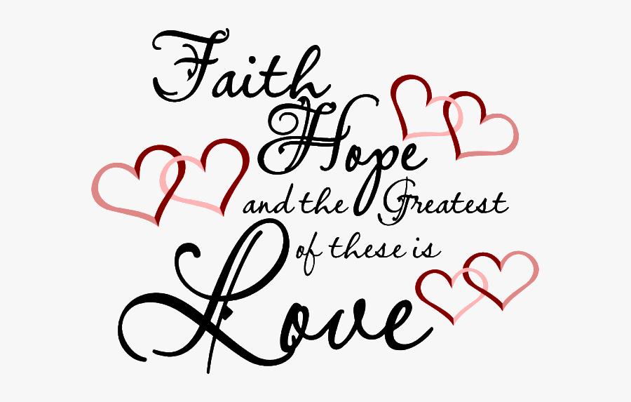 Clip Art Faith Hope Love Clipart.