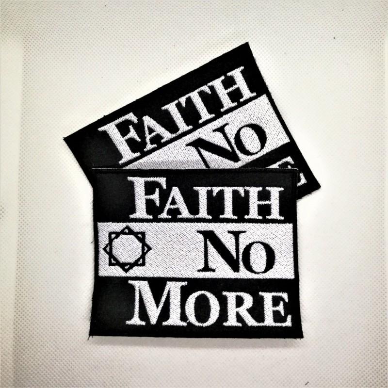 Faith no more logo patch.