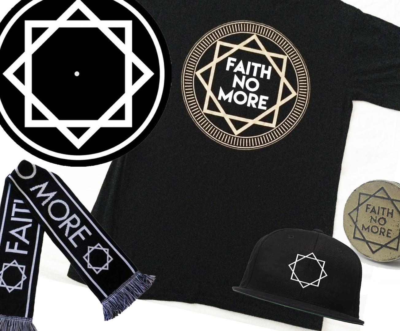 History of the FAITH NO MORE Star logo.