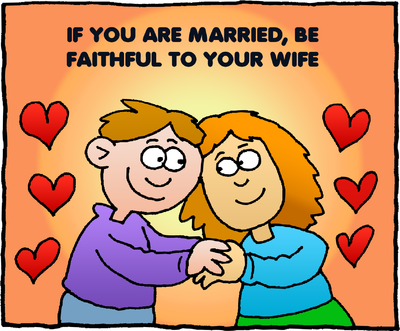 Image download: Faithful to Your Wife.