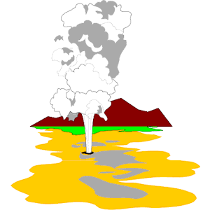 Old faithful clipart.