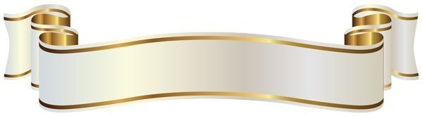 58 Awesome gold banner clipart.
