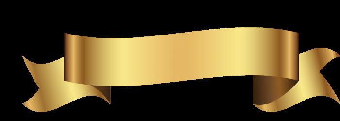 Faixa Dourada Vetor Png Vector, Clipart, PSD.
