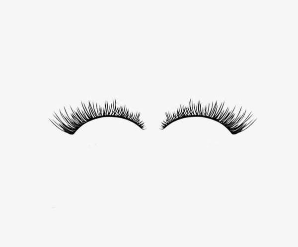 One Pair Of False Eyelashes PNG, Clipart, Eyelashes, Eyelashes.