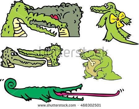 Gators Stock Photos, Royalty.