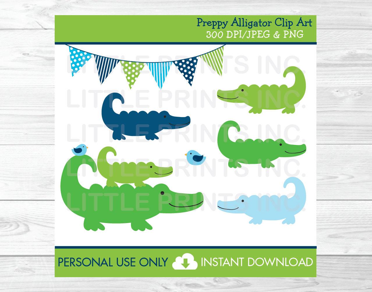 Alligator art.
