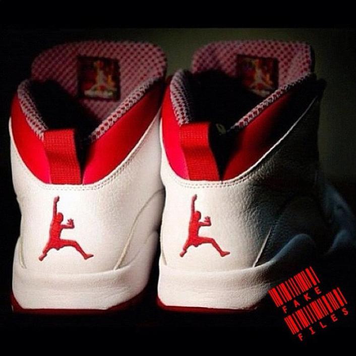 Worst Fake Jordan Logo.