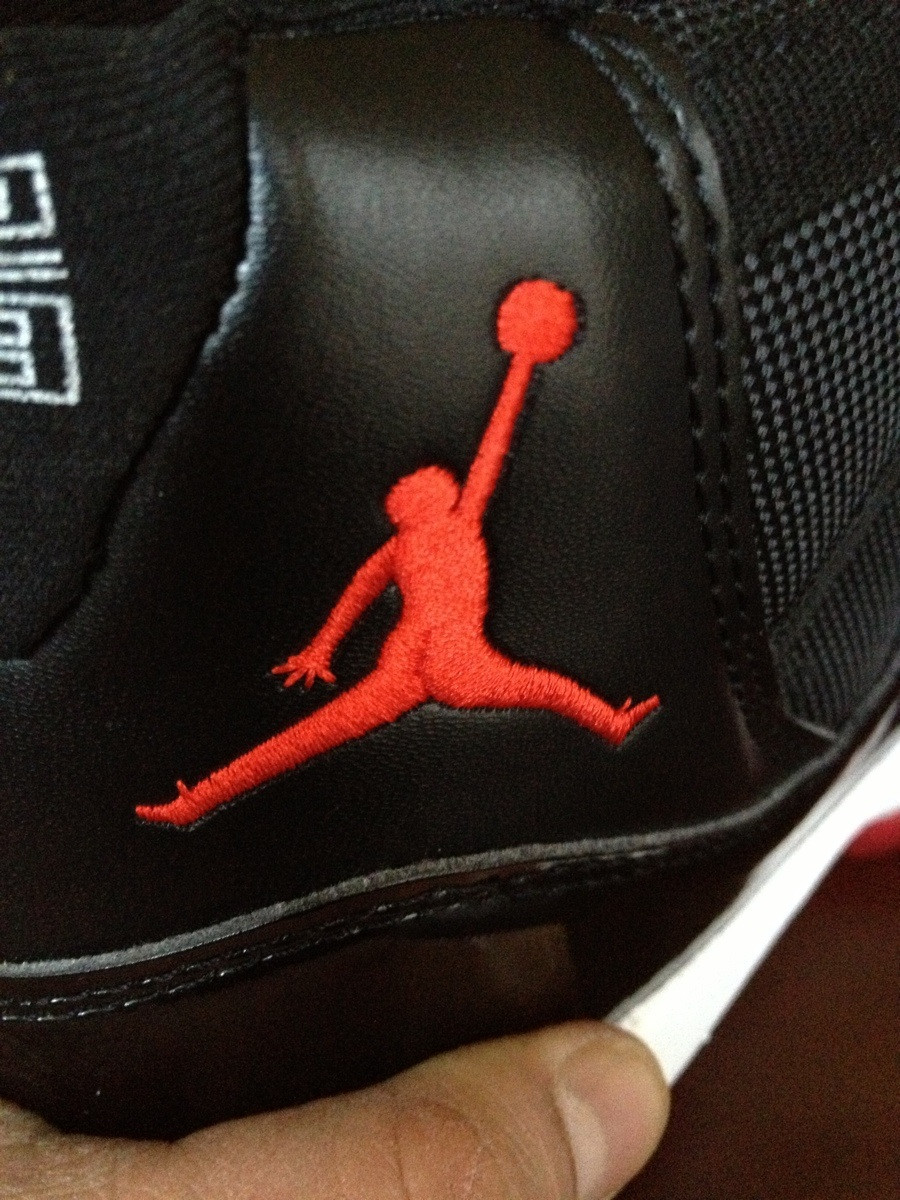 How to spot a fake Nike Air Jordan? Notice the butt crack.