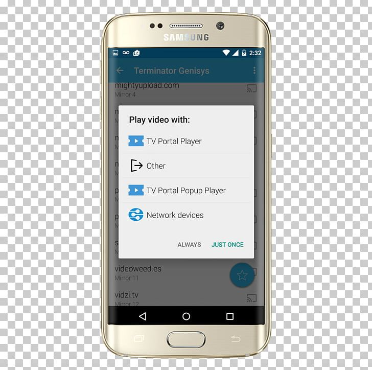 Feature Phone Smartphone شرطة الاطفال المرعبة دعوة وهمية.