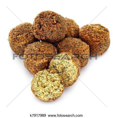 Stock Photograph of Falafel k7917989.