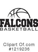 Falcons Basketball Clipart #1.