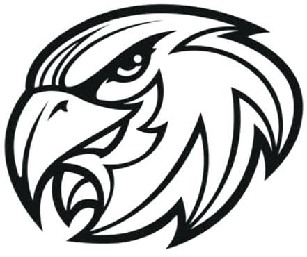 Falcon Head Clipart.
