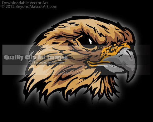 Mascot Clip Art, Sports Clip Art, Team Mascot Art.
