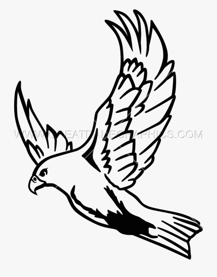 Falcon Clipart Easy.