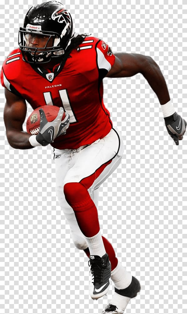 Football player, Julio Jones Atlanta Falcons transparent.