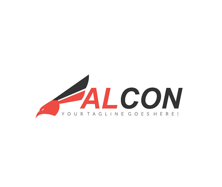 Falcon Logo Design.