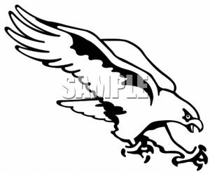 Falcon Clip Art Images.