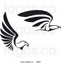Animals For > Falcon Logo Vector.