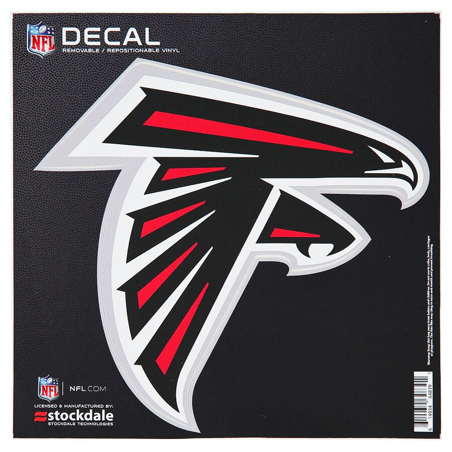 Atlanta Falcons 6\'\' x 6\'\' Logo Die.