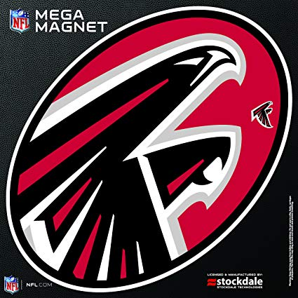 Amazon.com : Atlanta Falcons MEGA Style Logo 12\