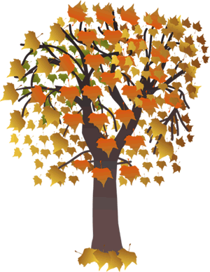 Fall and autumn clipart seasonal graphics.