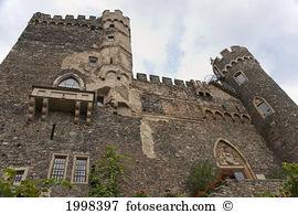 Burg reichenstein Images and Stock Photos. 4 burg reichenstein.