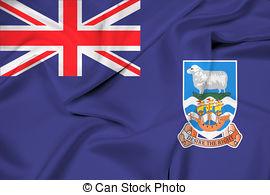 Flag of falkland islands Illustrations and Clip Art. 290 Flag of.