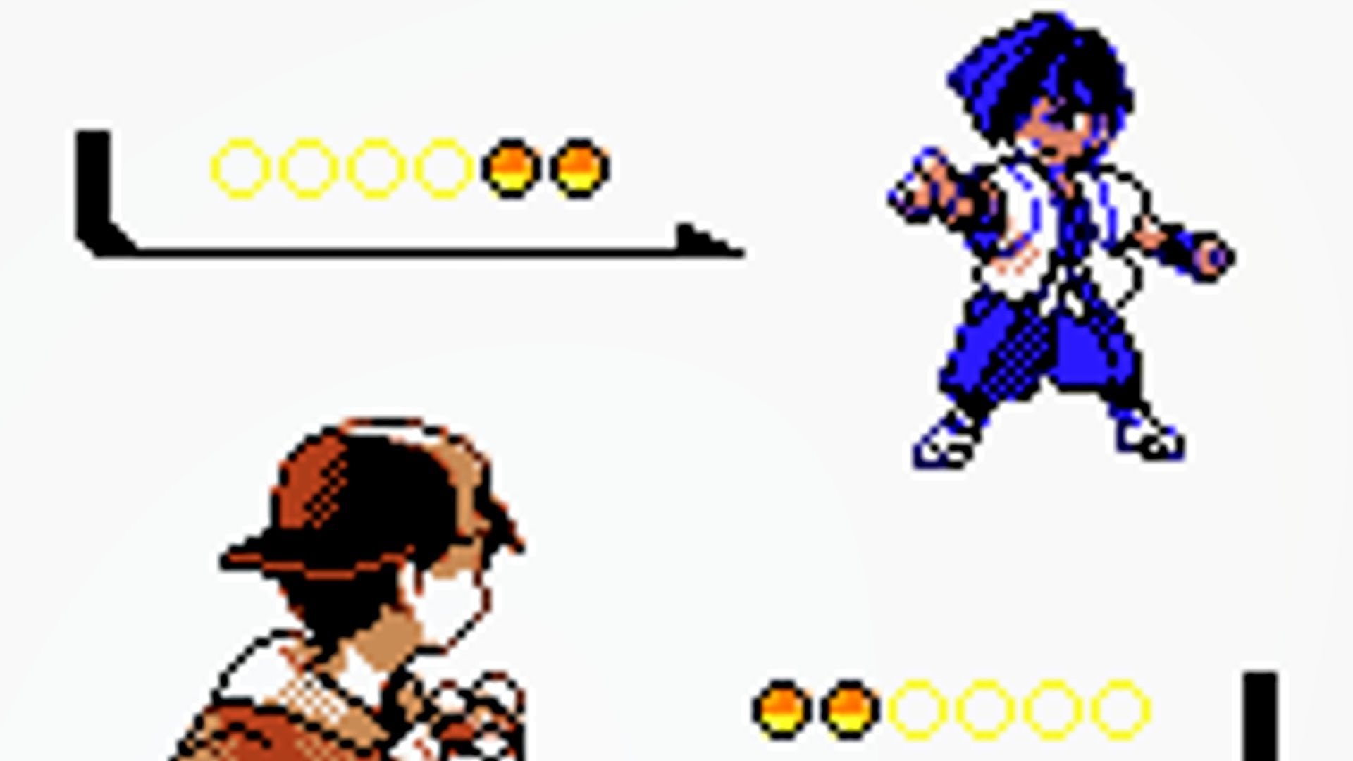 1st Gym Battle vs Falkner [Pokemon Gold].