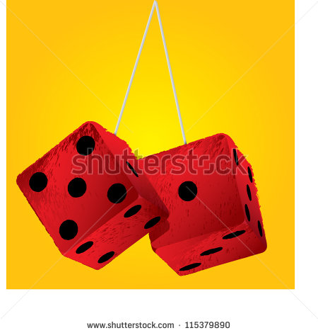 Car Dice Stock Photos, Royalty.