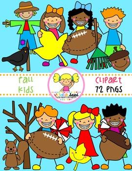 Fall Clipart {Kids Clipart}.