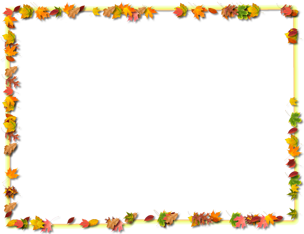 Thanksgiving Clipart Border in 2019.