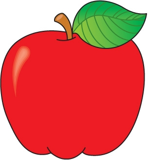 Fall Apple Clipart.