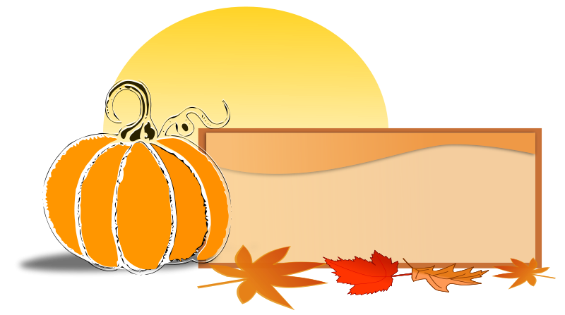 Clipart For Fall Anniversaries.
