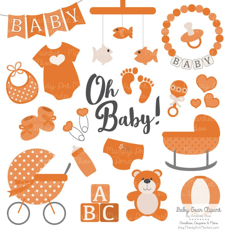 Premium Baby Clipart & Vectors in Pumpkin.