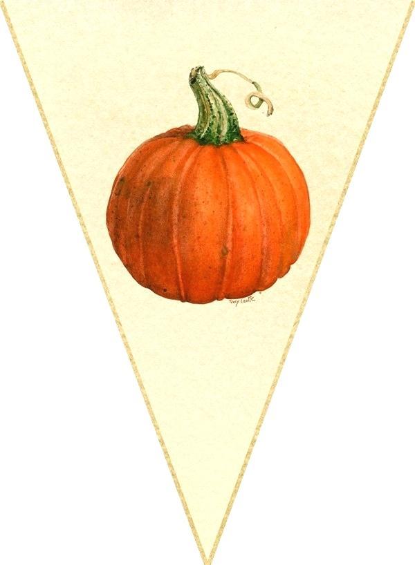 pumpkin banner.