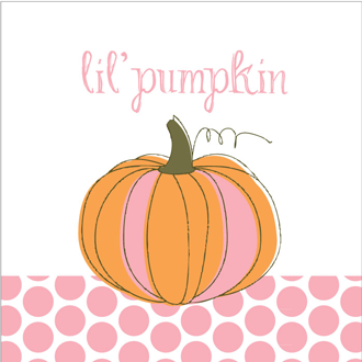 Lil Pumpkin Baby Shower Printables Collection.