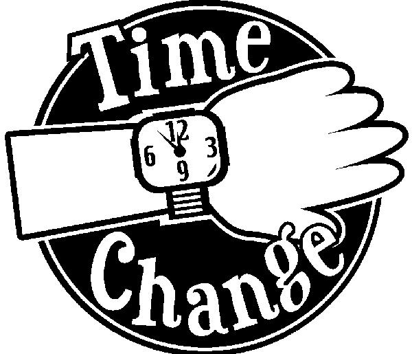 Daylight Saving Time Change Clip Art N2 free image.