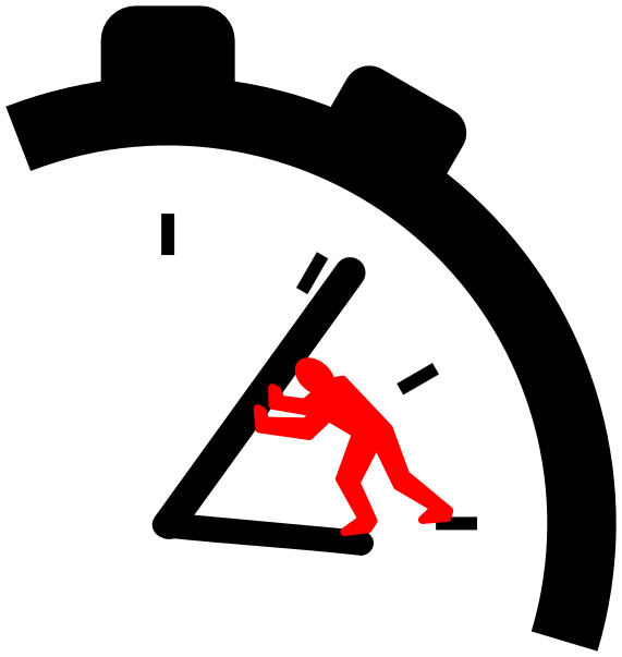 Turn Back Time Clipart.